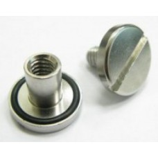 TecLine SS Nut and Bolt with O-Ring Long (14 mm)