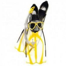 Cressi Pluma Bag (Mask Perla + Snorkel Gamma + Fins Pluma)