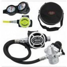 ScubaTech Regulator V 2 ICE MONO set III (reg.+ octo + spg + depth + compass)
